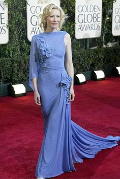 Cate Blanchett, Gaultier, Golden Globes 2007. Otherworldly.