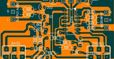 Electronics Projects, Electronic Circuit Projects, Electronics Gadgets, Layout Pcb, Circuit Board Design, Diy Amplifier, Simple Circuit, Electronic Schematics, Hifi Stereo