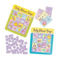 Baby Shower Bingo Game - OrientalTrading.com  What do you think Jeanne??!!
