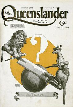 Vintage Australian mag cover
