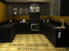 French Quarter Kitchen by ShinoKCR - Sims 3 Downloads CC Caboodle