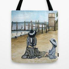 1902 Tote Bag by Art by Elle - $22.00