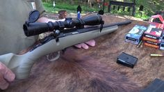 Shooting and discussing the Ruger American Ranch Rifle!