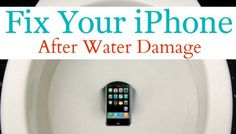 How I Fixed My  After It Fell In The Toilet. Just in case you drop your phone in the toilet, spill water on it or happen to drop it in a puddle of water…here is one way you can try to fix it! Cell Phone Hacks, Iphone Hacks, Wet Iphone, Cleaning Hacks, Cleaning Recipes, Cleaning Products, Cleaning Solutions, Deep Cleaning, Cleaning