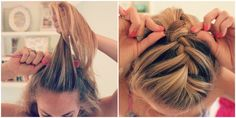 {Tutorial} French Braid Bun