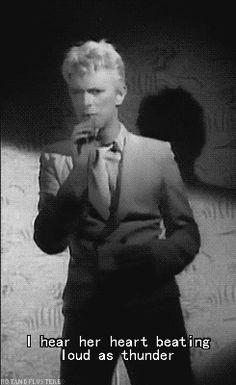 hotandflustered: Happy Birthday, David! (cue... on David Bowie Gifs