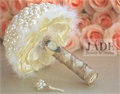 #gyöngycsokor #pearlbouquet #wedding #esküvő #csokor #bouquet Icing