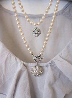 Handmade necklace.