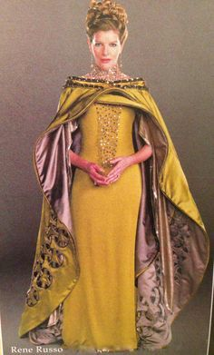 """Rene Russo Frigga Loki as An   Production still of Rene Russo in costume as Queen Frigga from """"Thor ..."""