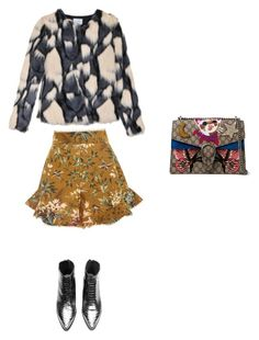 """""""Rock N Glam"""" by jana-raykow on Polyvore featuring Gucci, Zimmermann and Jovonna"""