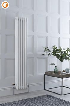 Hudson 1200 x 300 Grey Radiator Central Heating Systems & Accessories Heating & Cooling