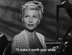 The Lady from Shanghai - a film noir directed by and starring Orson Welles (as well as Rita Hayworth and Everett Sloane). Rita Hayworth, First Ladies, Old Hollywood, Classic Hollywood, Old Movies, Vintage Movies, Vintage Classics, Divas, Orson Welles