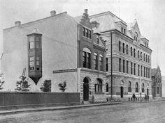 1000 Block Rosser Avenue in 1904, Brandon, Manitoba