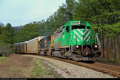 RailPictures.Net Photo: FURX 3029 First Union Rail (FURX) EMD SD40-2 at Renfroe, Alabama by Bradley Bates