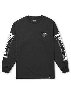 ce705ff2e16d HUF X THRASHER TDS Long Sleeve Tee - Black – West Brothers  huf  thrasher
