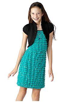 Size-16- Multi- BNJ-2305S- Multicolor Panel Chiffon Trapeze Dress ...