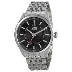 Oris Artix Pointer Moon Automatic Silver Dial Brown Leather Mens Watch 755-7691-4054MB. Product details http://astore.amazon.com/usxproducts-20/detail/B00NIXTRPK