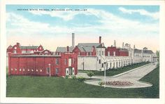 Postcard of the Indiana State Prison, circa 1927