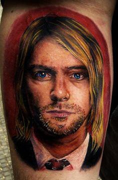 Kurt Koban by  Henry Anglas Padilla « – TattooArtProject.com – The best realistic tattoo artists in the world.