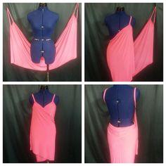 77f540ba5ddcd DIY Victoria Secret Swim Suit Cover Up ! NO SEWING !