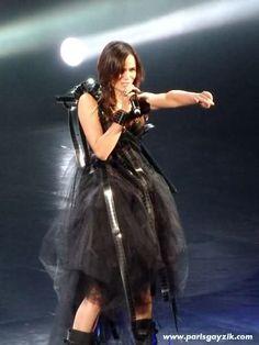 Melissa Mars ; Mozart l'Opera Rock au Grand Rex @ Paris 08/11/11
