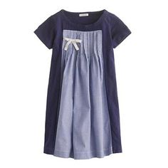 J Crew dress--maybe this idea would work to repurpose a t-shirt into a dress