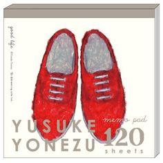 Greeting Life Yusuke Yonezu Square Memo Shoes