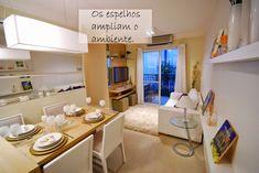 Apê em Decoração: Soluções para apartamentos pequenos