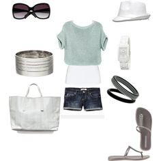 Headed to the Beach, created by maybudz.polyvore.com