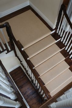 Best Full Wood Stairs With Carpet Up The Middle Stair Runner Carpet 400 x 300