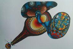 mario mandara colouring book, coloured by Miho