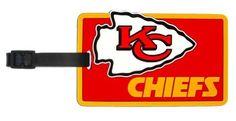 Kansas City Chiefs - NFL Soft Luggage Bag Tag by aminco, http://www.amazon.com/dp/B003LZO142/ref=cm_sw_r_pi_dp_Bqn0rb0F07NB7