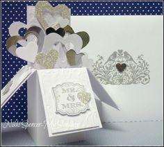 Wedding Card in a Box