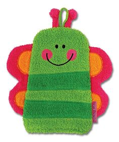 Look at this Butterfly Bath Mitt on #zulily today!