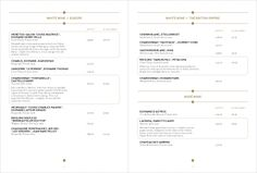 Art of the Menu: The Booking Office
