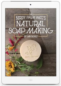 The Nerdy Farm Wife — The Nerdy Farm Wife Milk and Honey Soap (Cold Process vs Hot Process)<br> All of the know-how you need to create beautiful natural handmade soaps, palm free recipes with full color photos & much more! Handmade Soap Recipes, Soap Making Recipes, Handmade Soaps, Mint Shampoo, Shampoo Bar, Lotion En Barre, Salve Recipes, Fresh Aloe Vera, Honey Soap