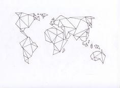 geometric world map - Google Search