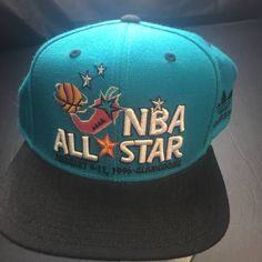 Adidas Vintage Adidas 1996 NBA All Star Game Snapback Hat Size one size -  Hats for c3461359e