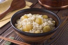Don't Miss These Best Japanese Recipes for Fall!: Japanese Chestnuts in Glutinous Rice (Kurigohan)
