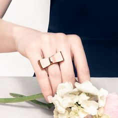 Tied with a Ribbon Ring from the Erin Fetherston x JewelMint #studioseries collaboration -> http://jmnt.co/1lXGXnt
