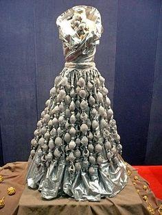 Teresa Dair's ballgown