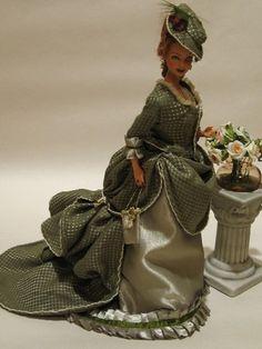 Aurelia - OOAK victorian Barbie by esefdolls, via Flickr
