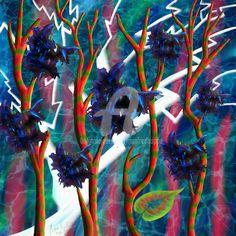 Überallpflanze (Digitale Künste) von Manfred Hoppe