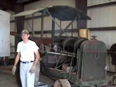 Antique Hart Parr Tractor - YouTube