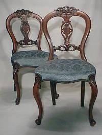 8 Mahogany Victorian Dining Chairs Balloon Back | Dining Chairs ...