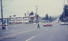 City of Portland Archives, Oregon, NE 82nd Avenue and NE Sandy Boulevard looking north (CU 63-67), A2011-013, 1967