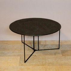 explore tables basses en tableau noir