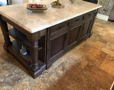 Very nice rustic bench with a lacquer finish. All benches are made to order and have custom sizes this particular bench is 5 feet long. Marble Top Kitchen Island, Kitchen Island Furniture, Rustic Kitchen Island, Kitchen Island With Seating, Kitchen Islands, Furniture Legs, Large Furniture, Rustic Bread, Rustic Bench