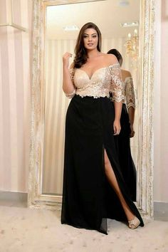 Plus Size Formal Dresses And Gowns - Plus Size Formal Dresses Source by jiramasmint Kleider Plus Size Formal Dresses, Elegant Dresses, Plus Size Outfits, Formal Gowns, Plus Size Evening Gown, Evening Gowns, Night Gown Dress, Plus Size Fashion, Fashion Dresses