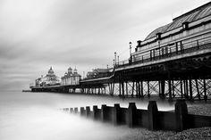 A long exposure photo of Eastbourne Pier by Dan Biggins